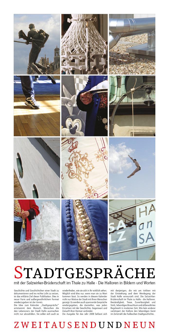 Kalender Stadtgespräche 2009