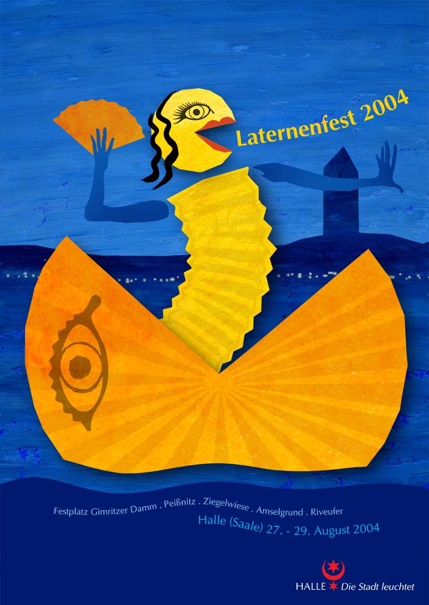 Plakat Laternenfest 2004